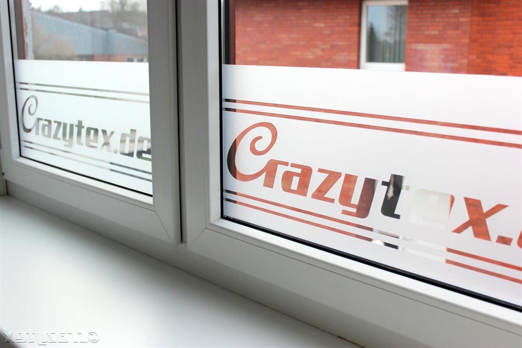 Milchglasbeschriftung - Ein absolutes Highlight für Ihre Fenster.