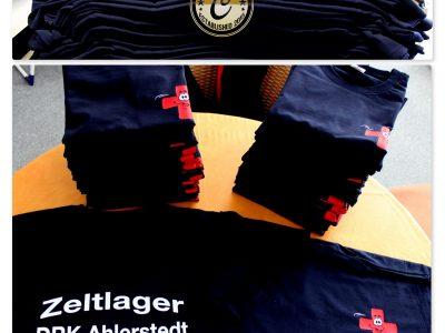 Beschriftung auf mitgebrachte Shirts