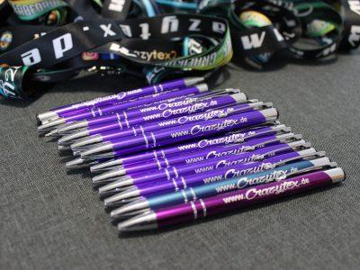 Kugelschreiber mit hochwertiger Lasergravur - bereits ab 50 Stk. bei uns bestellbar