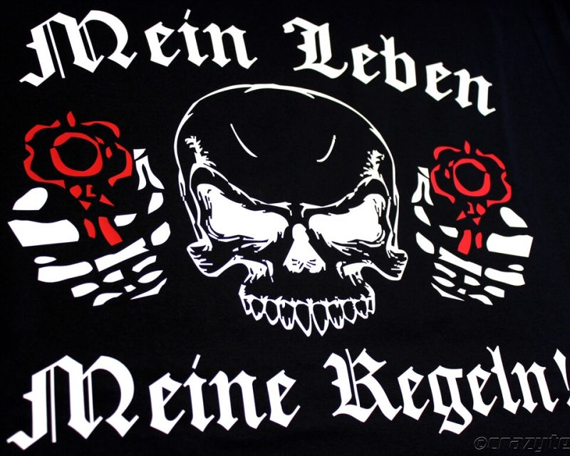 T-Shirts mit Bikermotiv