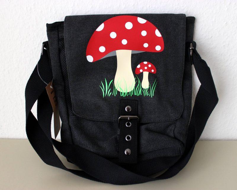 Auch auf Taschen kann man einen individuellen Textilaufdruck anbringen
